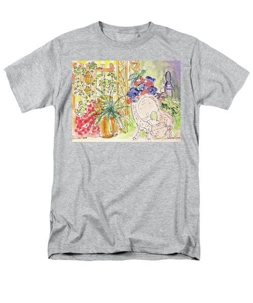 Summer Garden Men's T-Shirt  (Regular Fit) by Barbara Anna Knauf