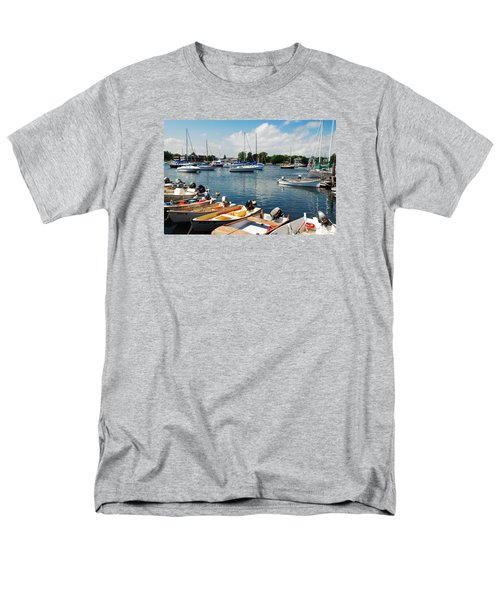 Men's T-Shirt  (Regular Fit) featuring the photograph Summer On The Bay by James Kirkikis