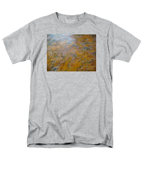 Men's T-Shirt  (Regular Fit) featuring the painting Summer Time by Fereshteh Stoecklein