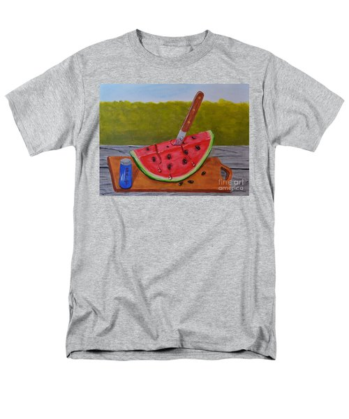 Men's T-Shirt  (Regular Fit) featuring the painting Summer Treat by Melvin Turner