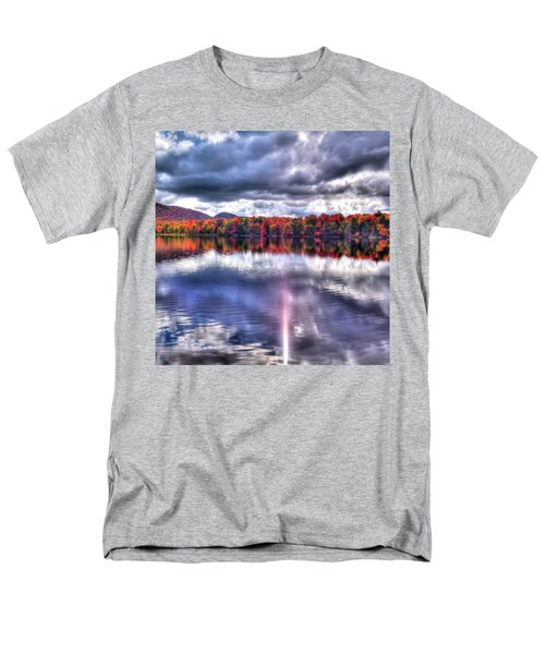 Men's T-Shirt  (Regular Fit) featuring the photograph Sun Streaks On West Lake by David Patterson