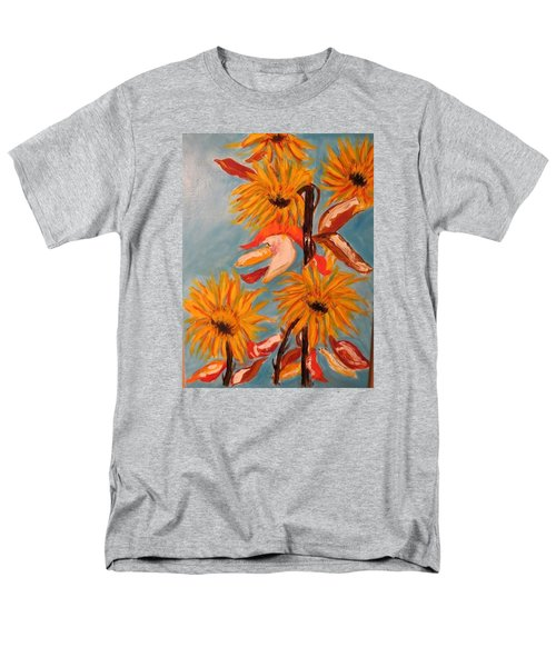 Sunflowers At Harvest Men's T-Shirt  (Regular Fit)