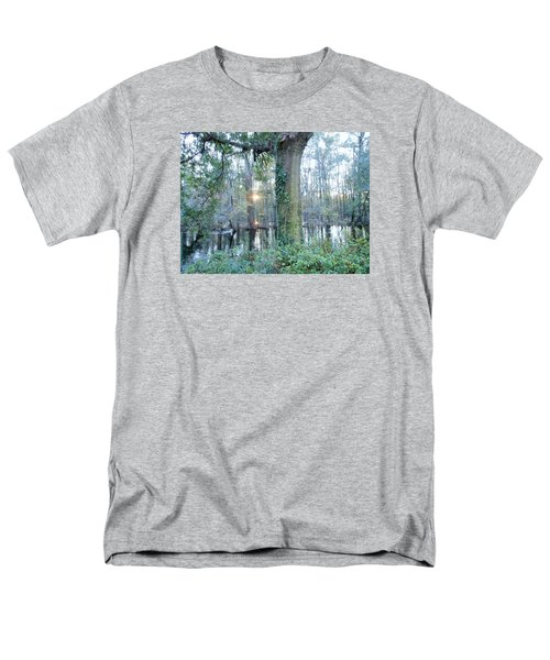 Sunlight On The Edisto River Men's T-Shirt  (Regular Fit) by Kay Gilley