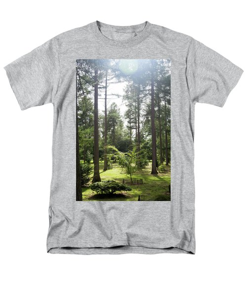 Sunlight Through The Trees Men's T-Shirt  (Regular Fit) by Scott Lyons