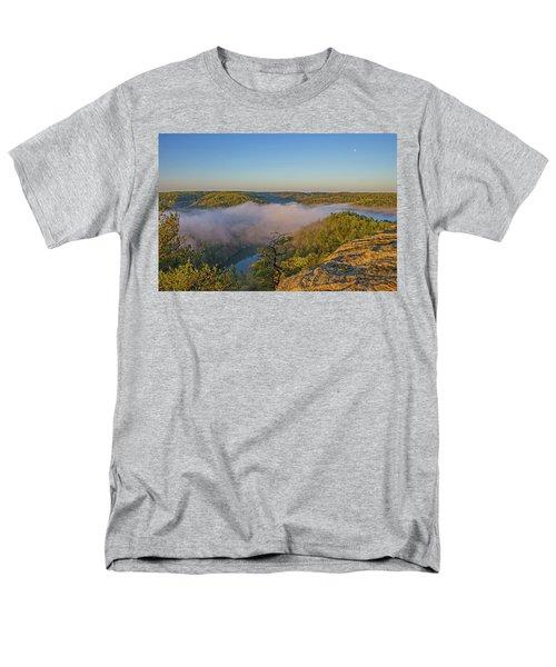 Sunrise At Mill Creek Lake. Men's T-Shirt  (Regular Fit)