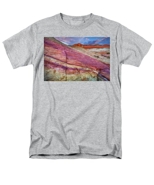 Men's T-Shirt  (Regular Fit) featuring the photograph Sunrise At Rainbow Rock by Darren White