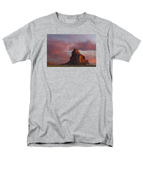 Sunrise At Shiprock New Mexico Men's T-Shirt  (Regular Fit) by Keith Kapple