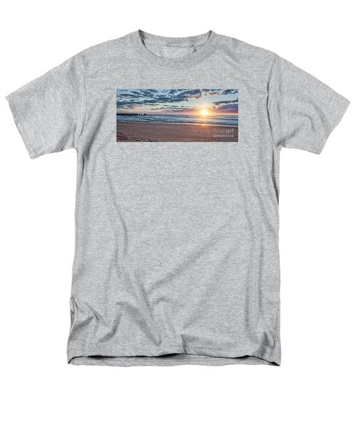Sunrise At The Outer Banks Men's T-Shirt  (Regular Fit) by Laurinda Bowling