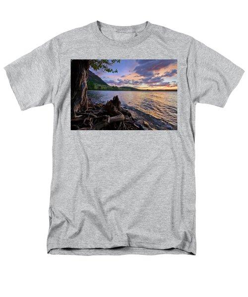 Sunrise At Waterton Lakes Men's T-Shirt  (Regular Fit) by Dan Jurak