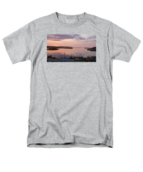 Sunrise Port Aux Basque, Newfoundland  Men's T-Shirt  (Regular Fit) by Joel Deutsch