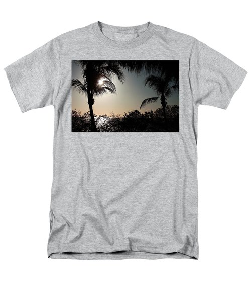 Sunset At Flamingo 1 Men's T-Shirt  (Regular Fit) by Ellen O'Reilly