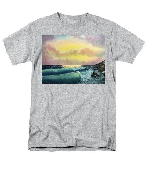 Sunset Beach Men's T-Shirt  (Regular Fit) by Thomas Janos
