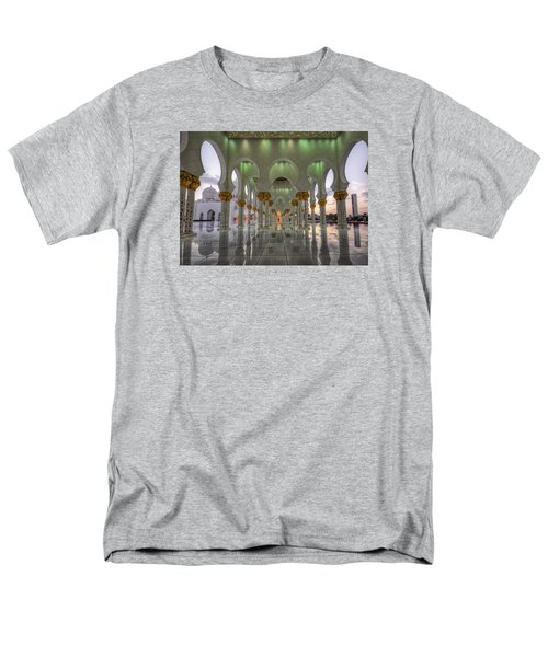Men's T-Shirt  (Regular Fit) featuring the photograph Sunset Hindu Temple by John Swartz
