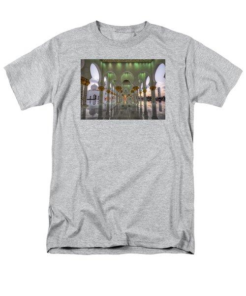 Sunset Hindu Temple Men's T-Shirt  (Regular Fit) by John Swartz