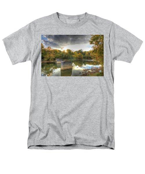 Men's T-Shirt  (Regular Fit) featuring the digital art Sunset In Murphy by Sharon Batdorf