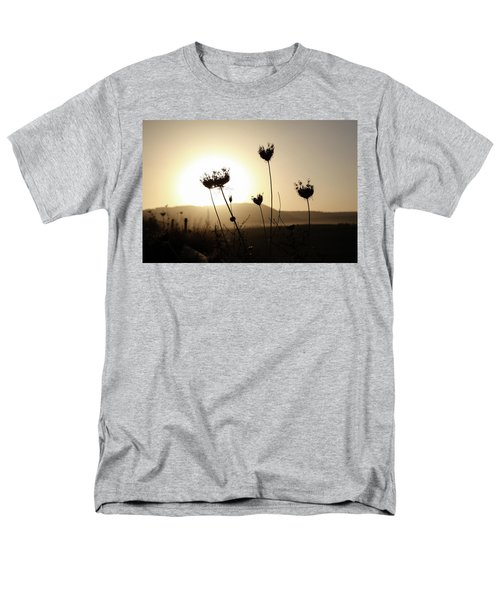 Men's T-Shirt  (Regular Fit) featuring the photograph Sunset On Galilee Road by Yoel Koskas