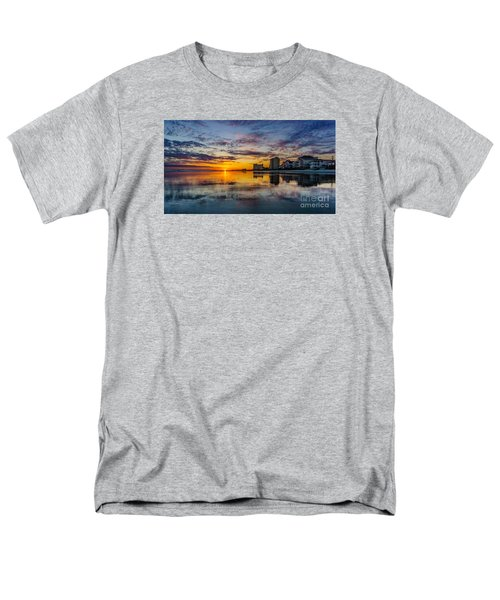 Sunset Reflection Men's T-Shirt  (Regular Fit) by David Smith