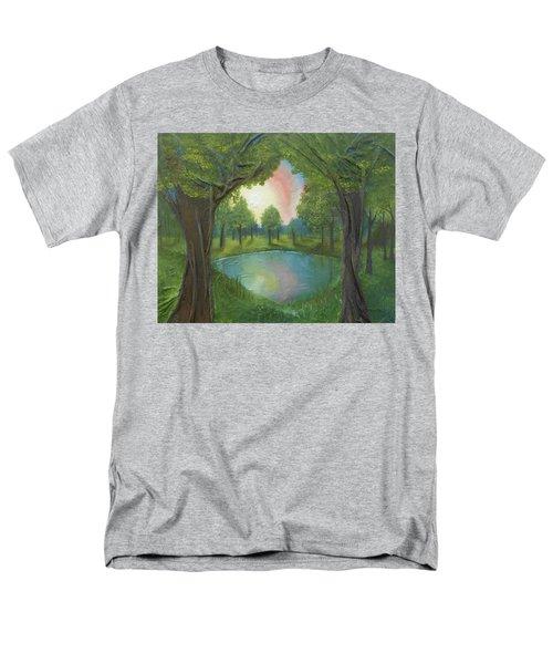 Sunset Through Trees Men's T-Shirt  (Regular Fit)