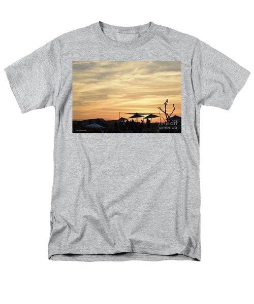 Men's T-Shirt  (Regular Fit) featuring the photograph Sunset View by Arik Baltinester