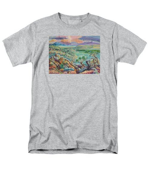 Sunset View From The Cedar Breaks Men's T-Shirt  (Regular Fit) by Dawn Senior-Trask