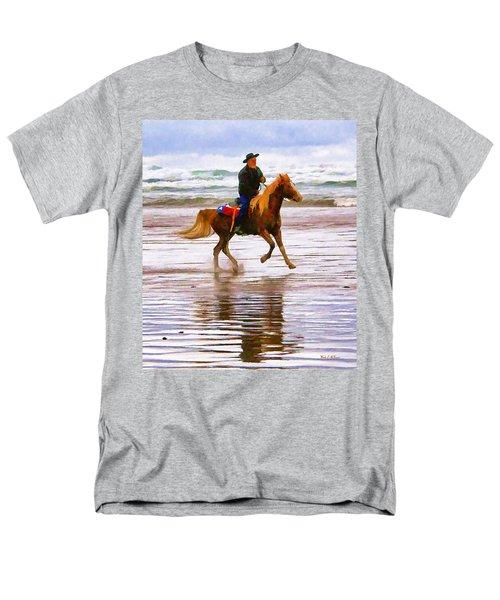 Surf Rider Men's T-Shirt  (Regular Fit) by Wendy McKennon