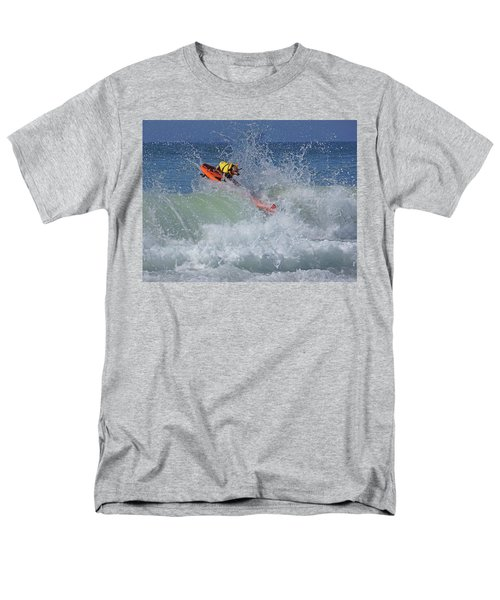 Men's T-Shirt  (Regular Fit) featuring the photograph Surfing Dog by Thanh Thuy Nguyen