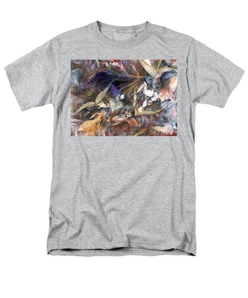 Tango Birds Men's T-Shirt  (Regular Fit)