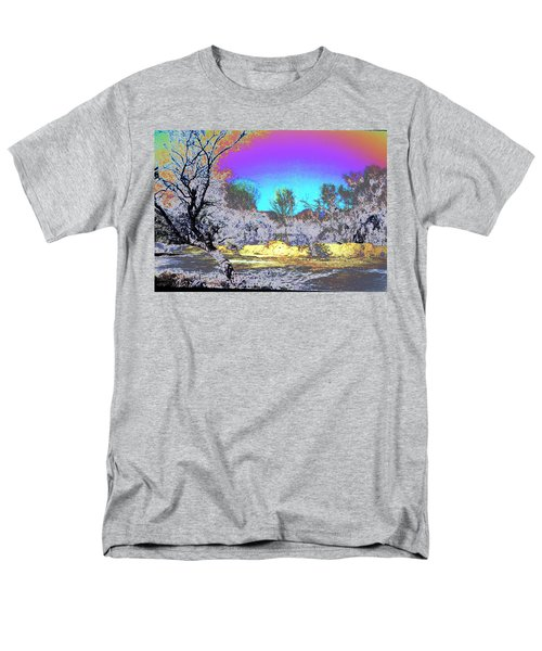 Tanque Verde Wash Abstract Men's T-Shirt  (Regular Fit) by M Diane Bonaparte