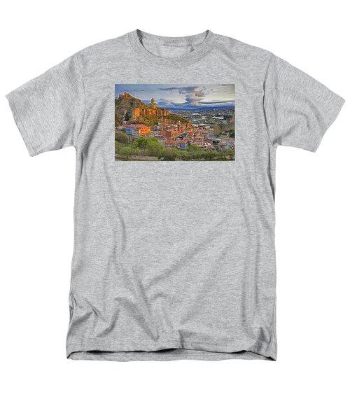 Tblisi Dawn Men's T-Shirt  (Regular Fit) by Dennis Cox WorldViews