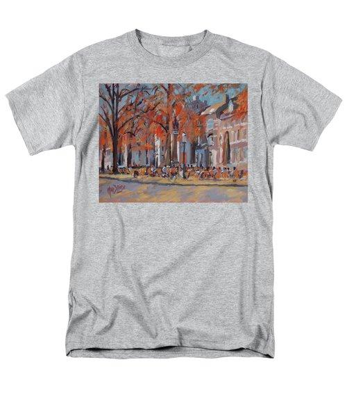 Terrace In The Grand Tanners Street Maastricht Men's T-Shirt  (Regular Fit) by Nop Briex