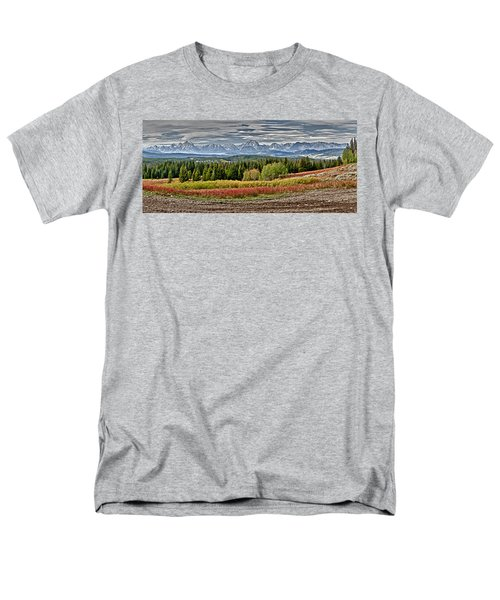Tetons Men's T-Shirt  (Regular Fit) by John Gilbert