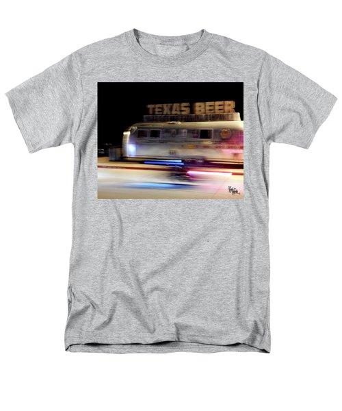 Texas Beer Fast Motorcycle #5594 Men's T-Shirt  (Regular Fit) by Barbara Tristan