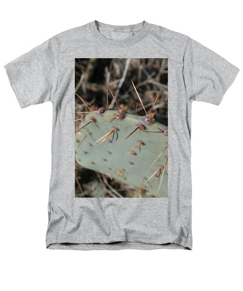 Men's T-Shirt  (Regular Fit) featuring the photograph Texas Spikes by Laddie Halupa