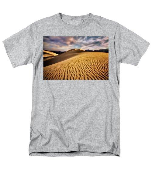 Textured Dunes  Men's T-Shirt  (Regular Fit) by Nicki Frates