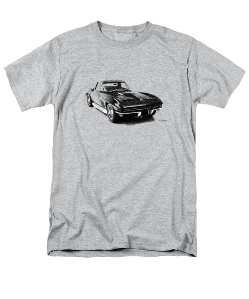 The 66 Vette Men's T-Shirt  (Regular Fit) by Mark Rogan