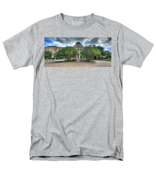 The Academic Building Men's T-Shirt  (Regular Fit) by David Morefield