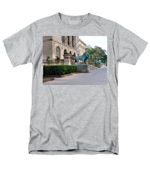 The Art Institute Of Chicago - 3 Men's T-Shirt  (Regular Fit) by Ely Arsha
