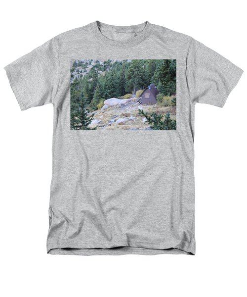 The Barr Trail A Frame Men's T-Shirt  (Regular Fit) by Christin Brodie