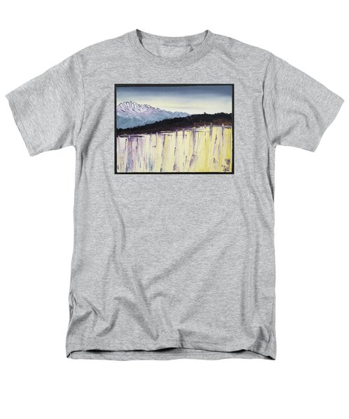 The Bluff And The Mountains Men's T-Shirt  (Regular Fit) by Carolyn Doe