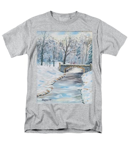 The Bridge Men's T-Shirt  (Regular Fit) by Stanton Allaben
