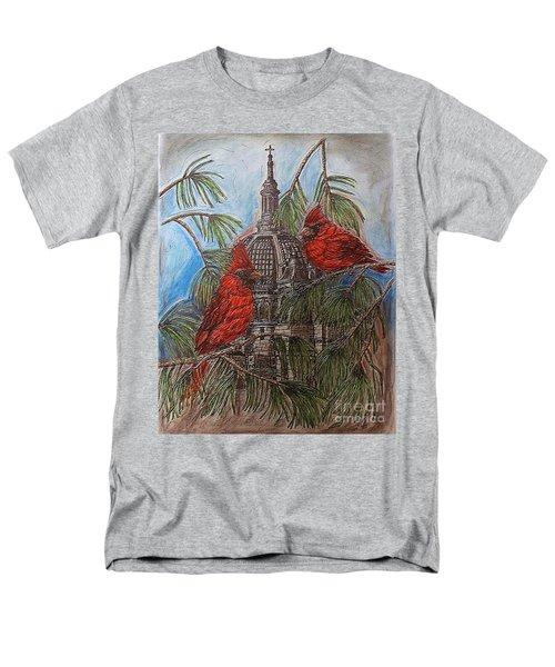 The Cardinals Visit St.pauls Cathedral Men's T-Shirt  (Regular Fit) by Kim Jones