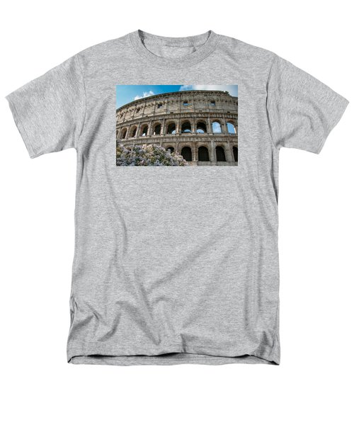 The Coliseum In Rome Men's T-Shirt  (Regular Fit) by Kathleen Scanlan