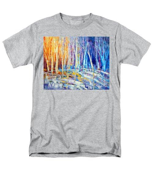 The Color Of Snow Men's T-Shirt  (Regular Fit) by Tatiana Iliina