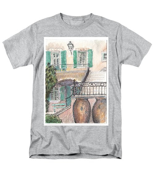 Men's T-Shirt  (Regular Fit) featuring the painting The Dora Maar Residency by Tilly Strauss
