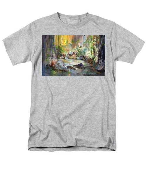 The Enchanted Pool Men's T-Shirt  (Regular Fit) by P Anthony Visco