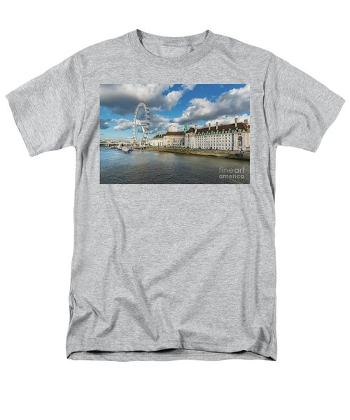 The Eye London Men's T-Shirt  (Regular Fit)