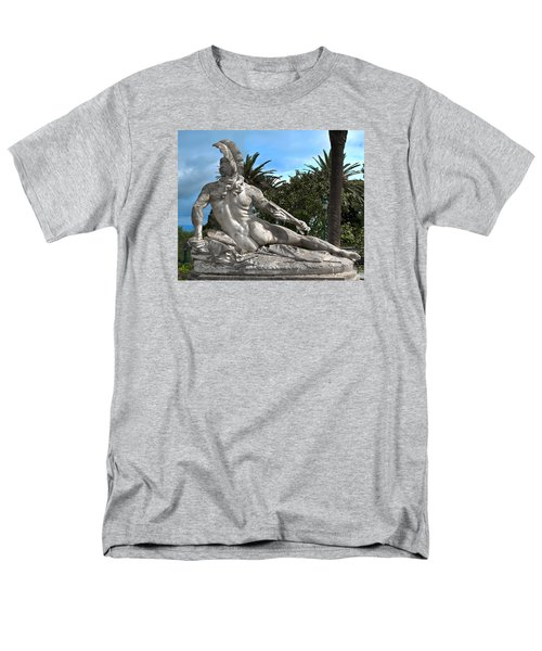 Men's T-Shirt  (Regular Fit) featuring the photograph The Feather by Richard Ortolano