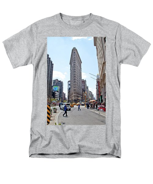 The Flatiron Building Men's T-Shirt  (Regular Fit) by Jean Haynes