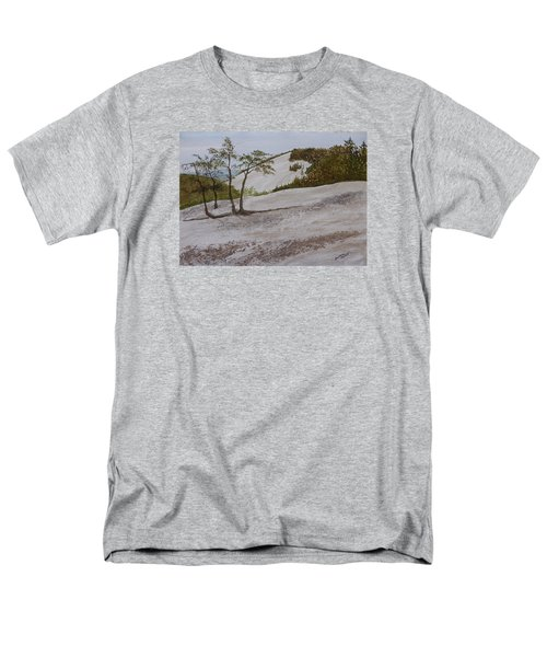 The Four Sisters At Stone Mountain Men's T-Shirt  (Regular Fit) by Joel Deutsch
