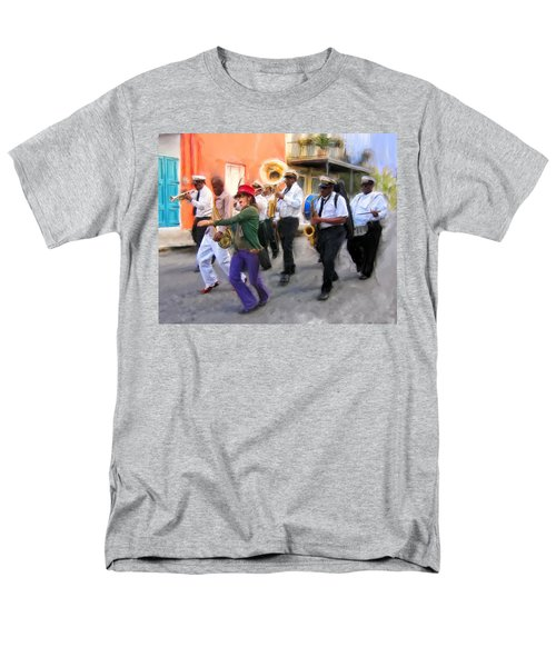 The French Quarter Shuffle Men's T-Shirt  (Regular Fit) by Dominic Piperata
